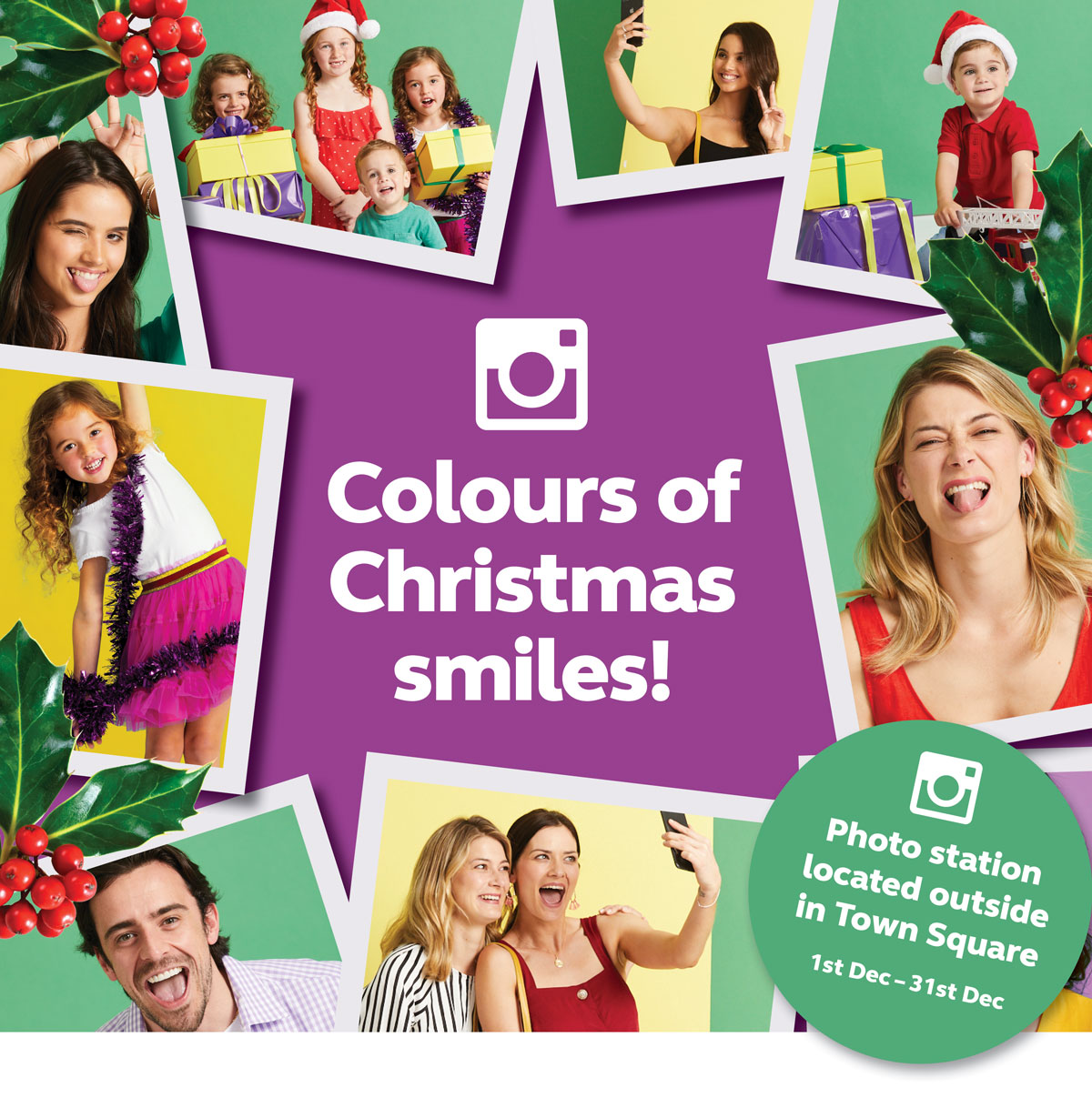 Colours of Christmas smiles!