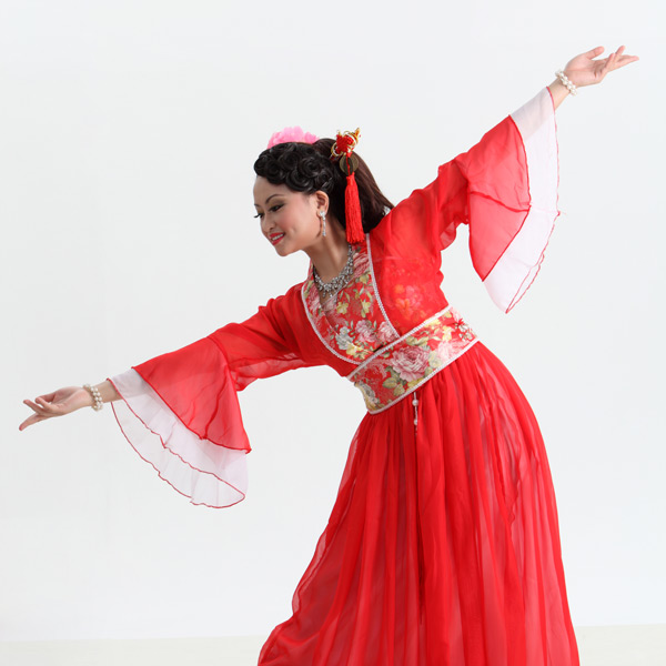 Traditional Chinese dancing