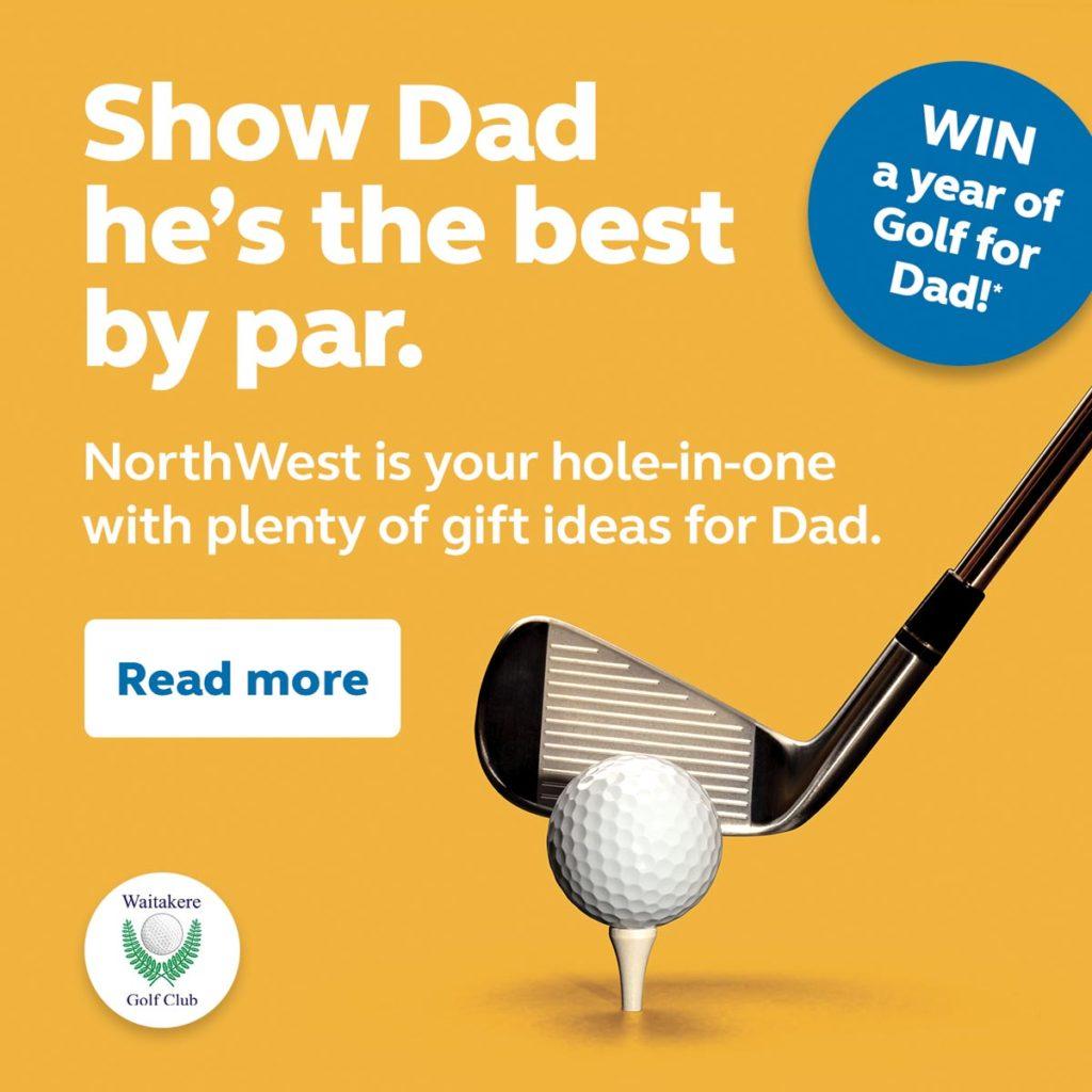 Show Dad he's the best by par.