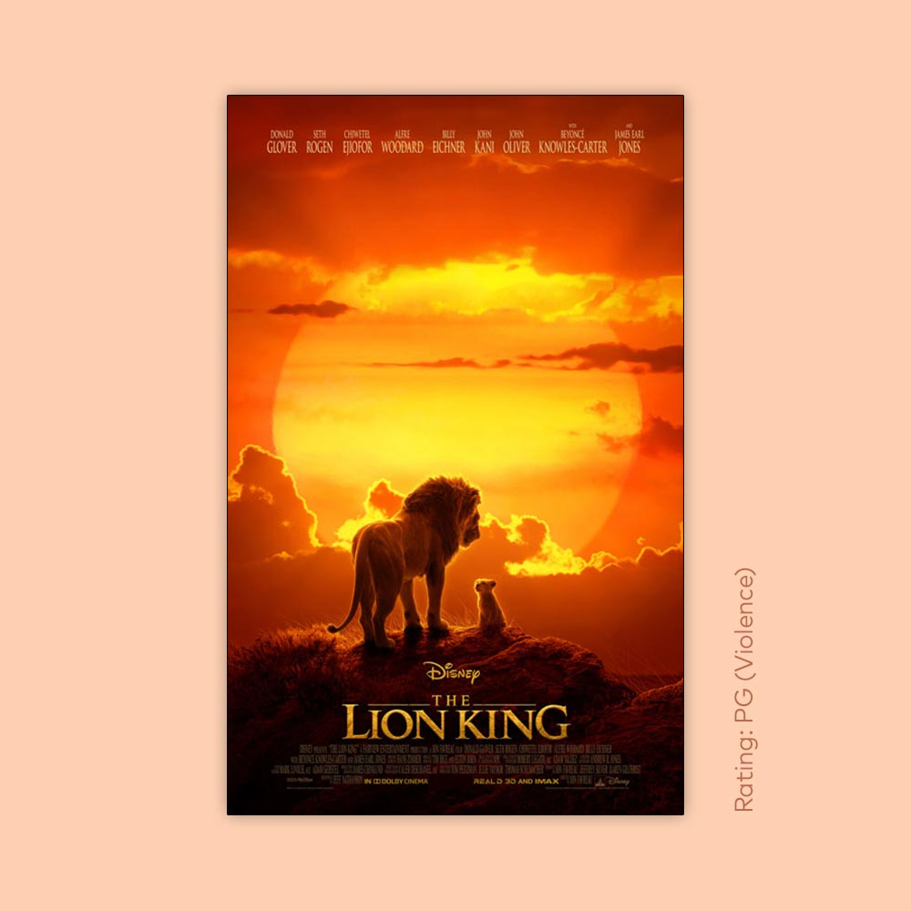 Free outdoor movie: The Lion King