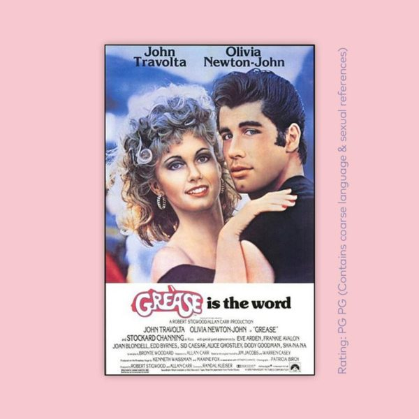 Free outdoor movie: Grease