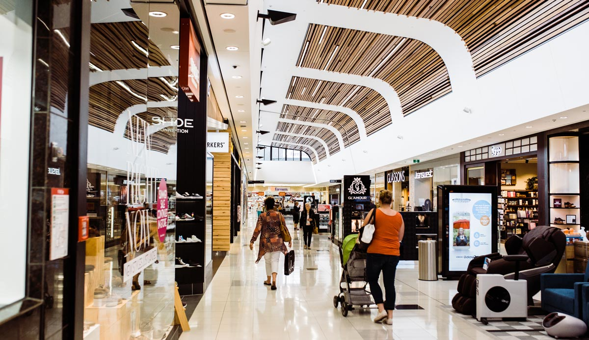 NorthWest Shopping Centre inside