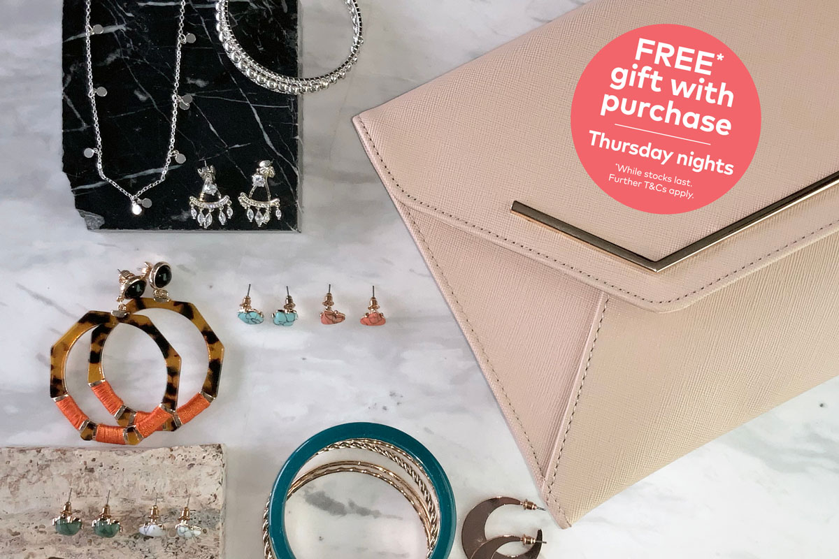 Free gift with purchase*